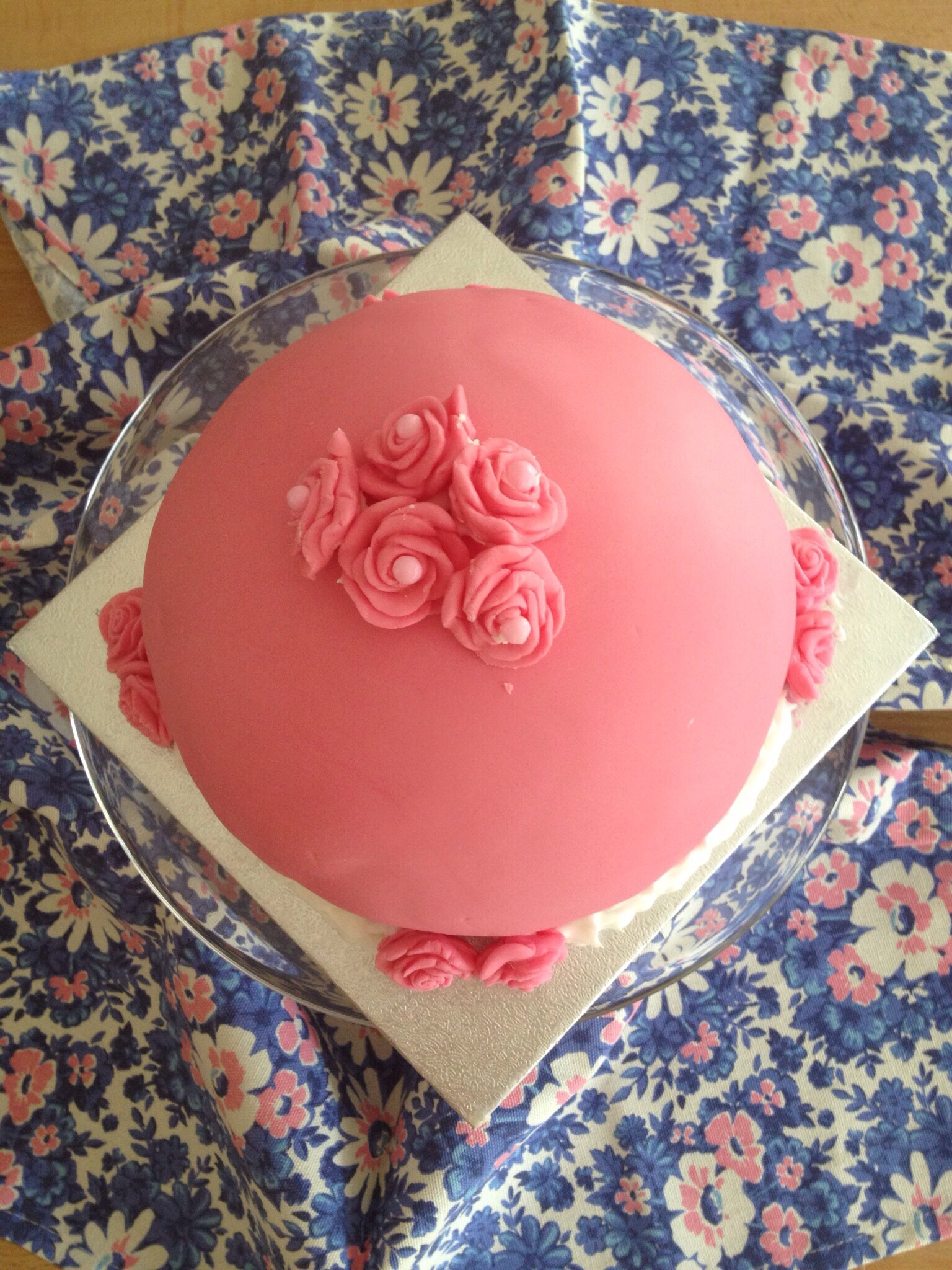 A-Z challenge – S is for Swedish princess cake…