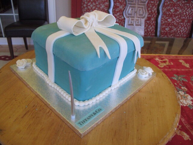 T is for my  kitchen assistant …and a Tiffany box
