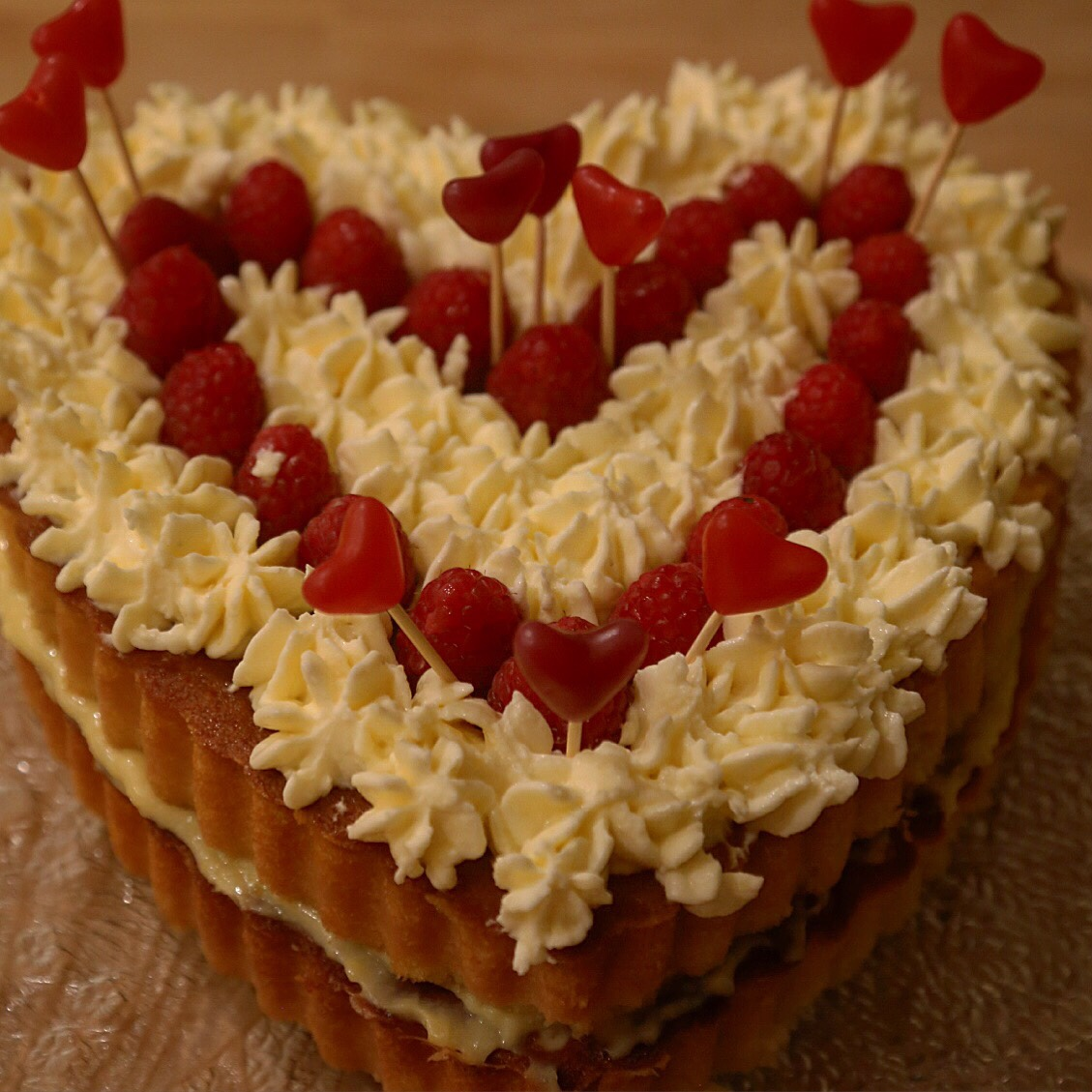 A special valentines cake